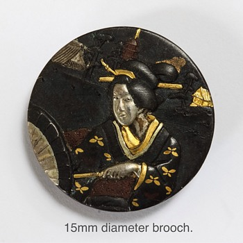 Japanese Brooch - Asian