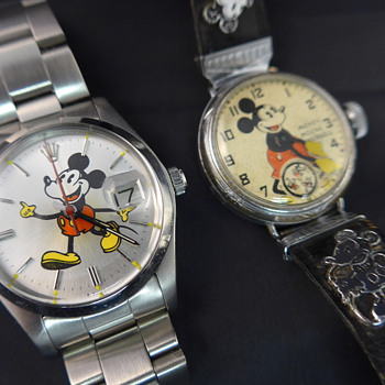 Transformation Of Mickey Mouse Rolex - Wristwatches