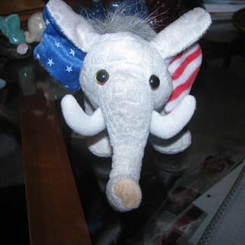 Patriotic elephant plush - Animals