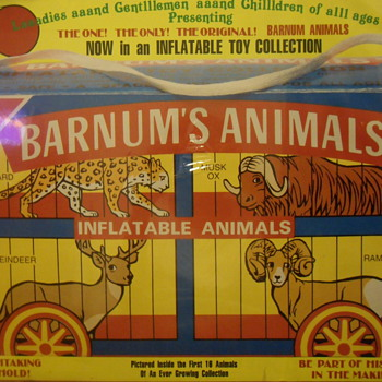 Dealer Barnum's Animal's Poster and Elf dish???? - Advertising