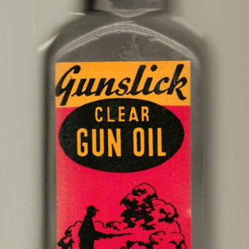 1960's - Outer's Gunslick Gunoil - Petroliana