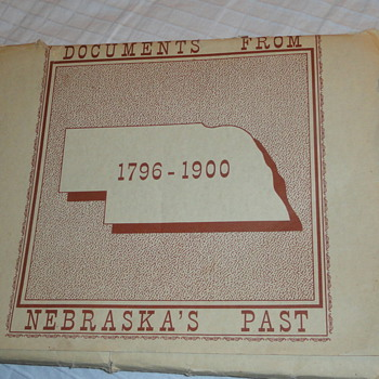 Nebraska documents 1796-1900