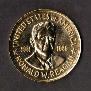 Ronald W. Reagan Presidential Medal - Medals Pins and Badges
