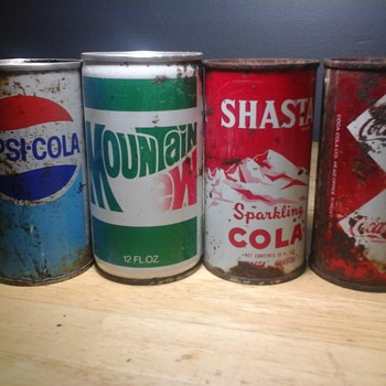 Soda cans - Advertising
