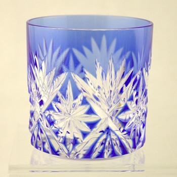 Hoya Kiriko glasses - Art Glass
