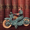 1930's Hubley HD Motorcycle