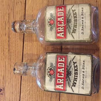 Arcade Whiskey bottles (Louisville, KY)