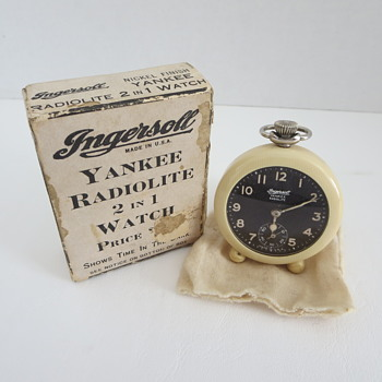 Ingersoll Yankee Radiolite 2 in 1 Watch