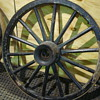Good Condition Antique Wagon Wheels
