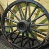 Good Condition Antique Wagon Wheels