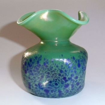 Cobalt Cisele  - Art Glass