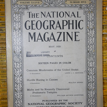 Th National GeoGraphic Magazine.