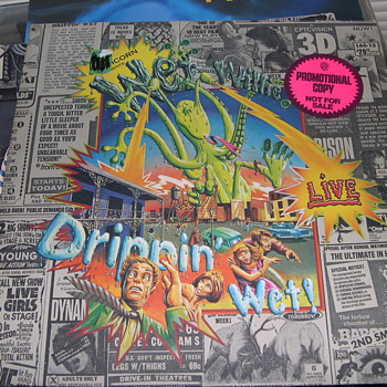 PSYCHEDELIC WET WILLIE DRIPPING WET LIVE PROMOTIONAL ALBUM