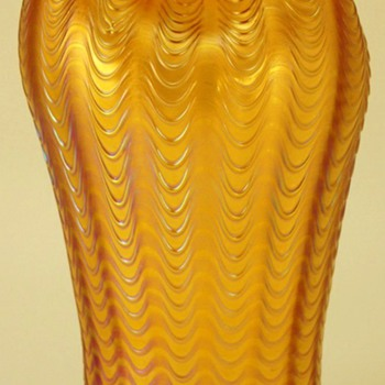 Loetz Aeolus ( Warren's Aeolus Brother ) - Art Glass