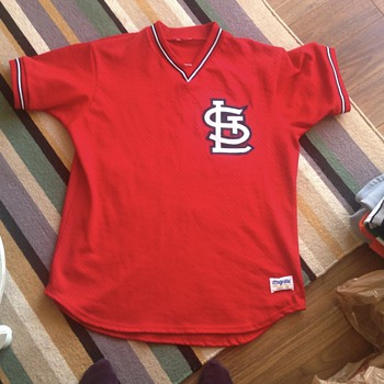 Vtg Vince Coleman Cardinals Majestic Jersey Sewn Authentic?? - Baseball