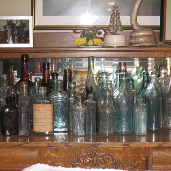 Random picture taken without staging.... - Bottles