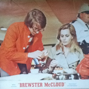 Brewster McCloud Lobby Card - Movies