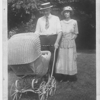 1920's Family Photo taking a stroll - Photographs