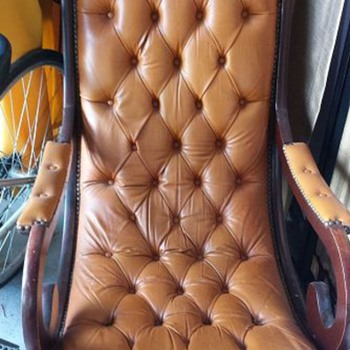 My old rocker, maybe a Lincoln Rocker? - Furniture