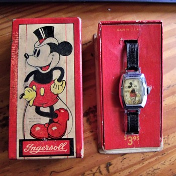 Two Collectors unite to Make a Complete Mickey Mouse Watch