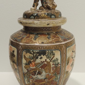 Japanese Satsuma Vase - 19th Century? - Post I