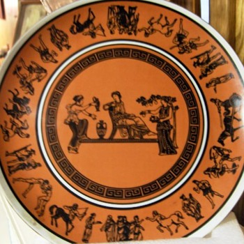 Metaxa Collectible Plate For Manto Imported Greek Liqueur - China and Dinnerware