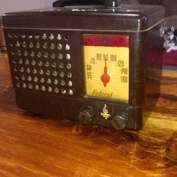 Emerson, Fedral radio.