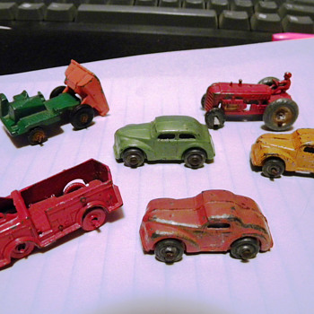 Japan unknown antique miniture cars and truck - Model Cars