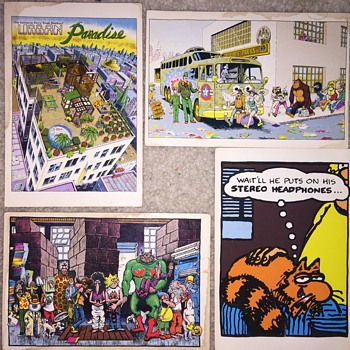 Gilbert Shelton postcards