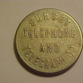 Telephone Token or Test Coins - US Coins