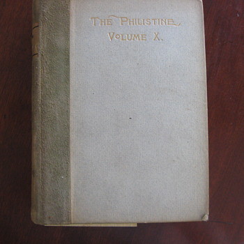 The Philistine Vol. 10 1899 - 1900
