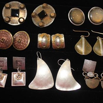Marjorie Baer Earrings - Costume Jewelry