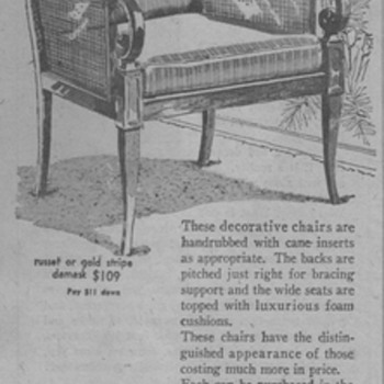 1963 - Smyth Furniture Advertisement