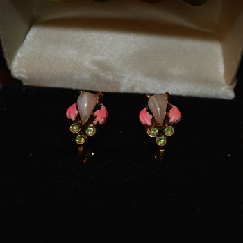 Great-Grandma's Earrings - Costume Jewelry