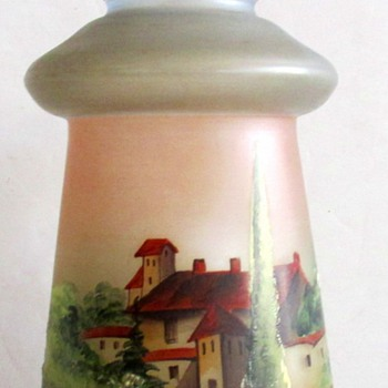 RUCKL DECO EXPORT SHADE, VILLAGE SCENE. - Lamps