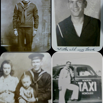 My Grandfather's WWII pictures