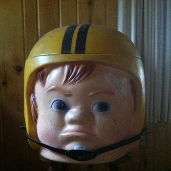 Football  helmet Toy chest