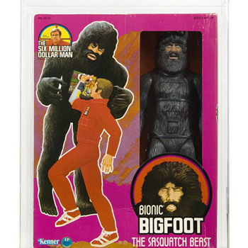 1977 Kenner SIX MILLION DOLLAR MAN Bionic Bigfoot AFA 75 EX+/NM - Toys