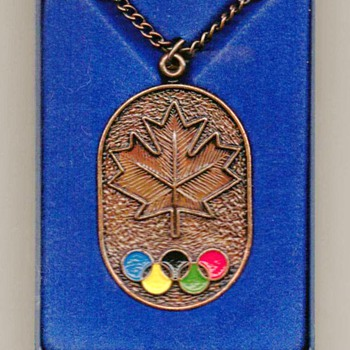 1976 - Olympic Medallion - Medals Pins and Badges