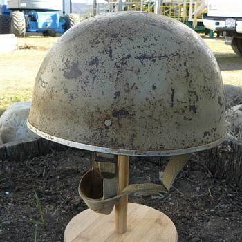 Israeli Mk II Airborne Helmet ( HSAT ) - Military and Wartime