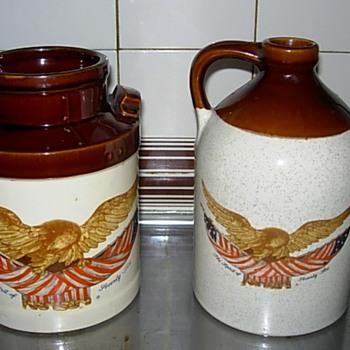 Bicentennial jugs - Art Pottery