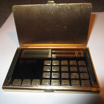 VINTAGE POCKET CALCULATOR
