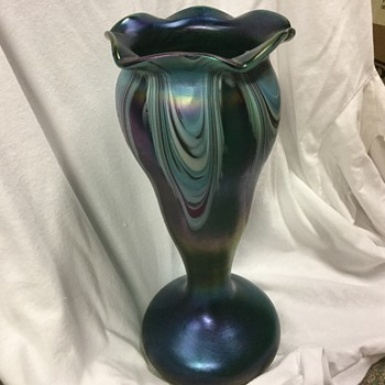 Rindskopf bohemian vase