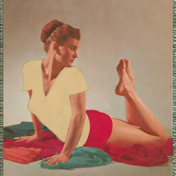 1957 - Ye Olde Garage Pinup - Posters and Prints