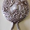 Elaborately Detailed Antique Hand Mirror Gorham