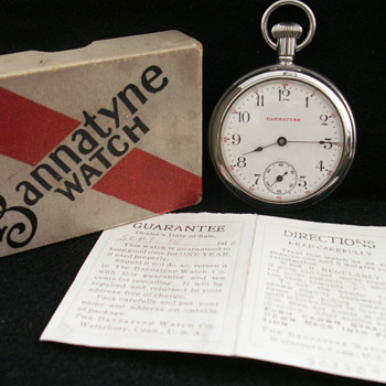 The Bannatyne Watch Co. - Pocket Watches
