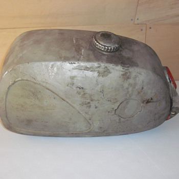 Vintage Motorcycle Gas Tank