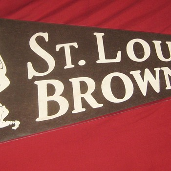 1950's St. Louis Browns Pennant - Baseball