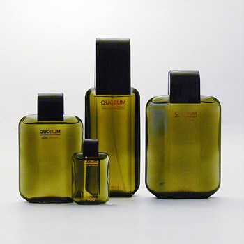 Bottles for QUORUM, André Ricard (1981)