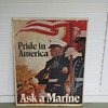 Pride in America Ask a Marine Tin Sign